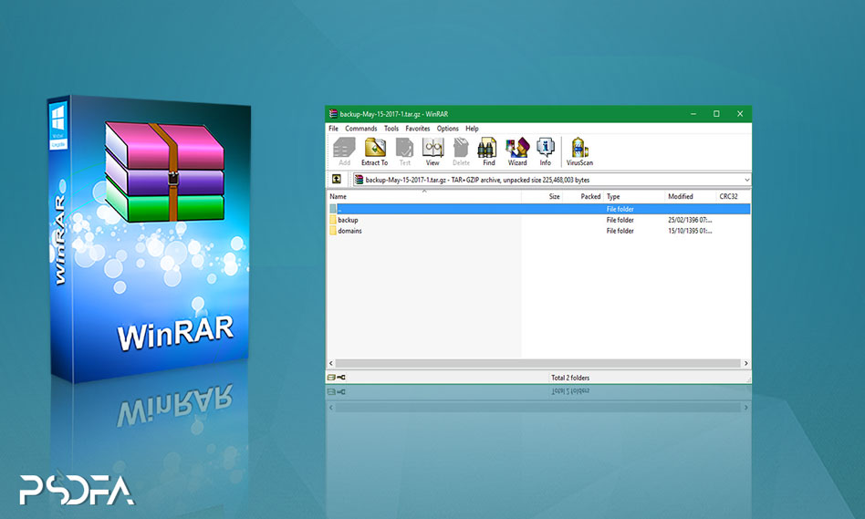فشرده ساز فایل WinRAR 5.91 Final