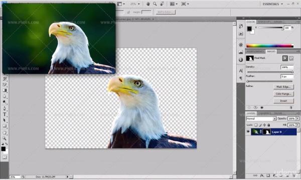آموزش تصویری حذف بک گراند و پس زمینه تصاویر در فتوشاپ