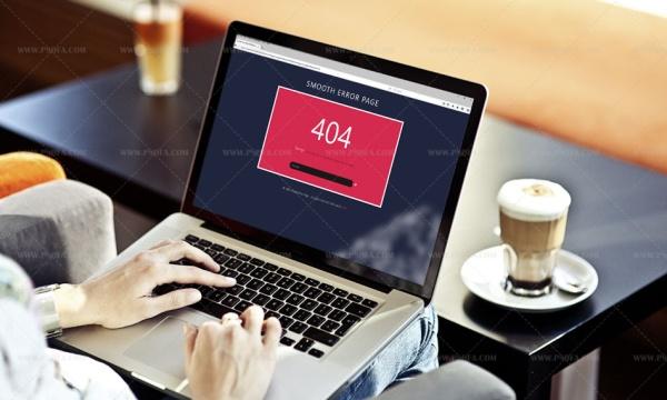 قالب html خطای 404 فلت