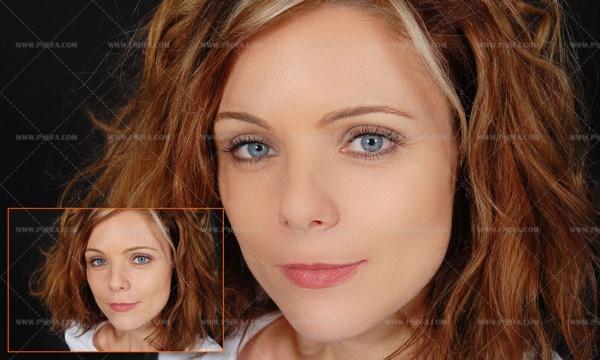 آموزش تصویری روتوش فوری چهره در فتوشاپ به کمک اکشن