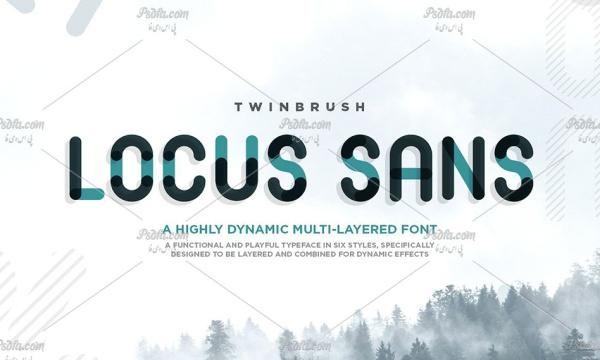 فونت انگلیسی Locus Sans مناسب برای طراحی و گرافیک