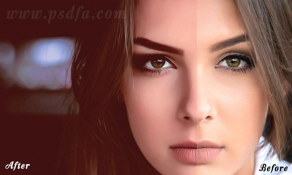 تبدیل تصاویر به نقاشی دیجیتال در فتوشاپ با اکشن Master Digital Painting