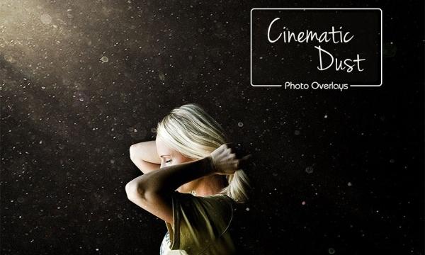 مجموعه افکت سینمایی گرد و غبار و ذرات نورانی با کیفیت بالا
