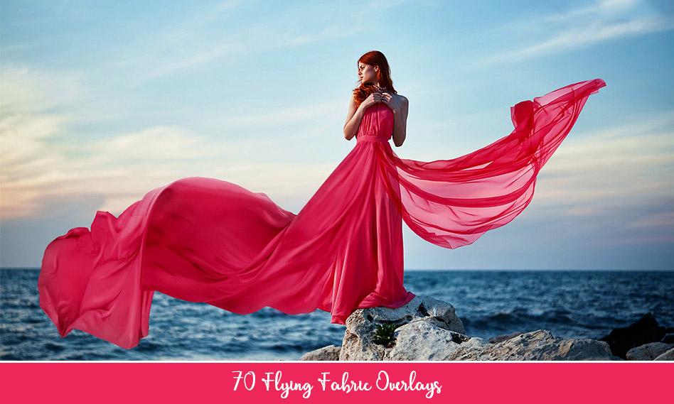 مجموعه 70 دنباله تور و لباس عروس و مجلسی دور بری شده برای طراحی با فرمت PNG