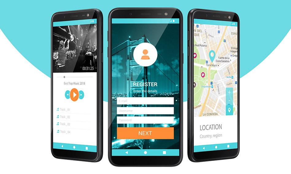 6 موکاپ صفحه نمایش موبایل با فرمت PSD قابل ویرایش در فتوشاپ