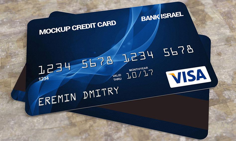 موکاپ کارت بانکی (عابر بانک) با فرمت PSD قابل ویرایش در فتوشاپ