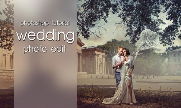 آموزش تصویری ادیت و ویرایش عکس های عروسی رنسانس در فتوشاپ