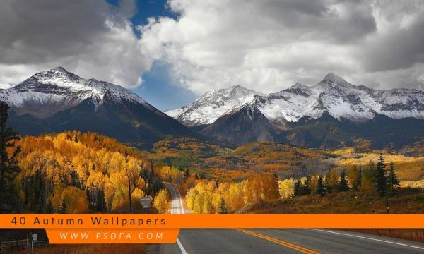 مجموعه 40 تصویر زمینه و والپیپر پاییز فوق العاده زیبا با کیفیت بالا