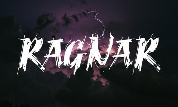 فونت انگلیسی و قلمویی Ragnar مناسب برای طراحی پوستر