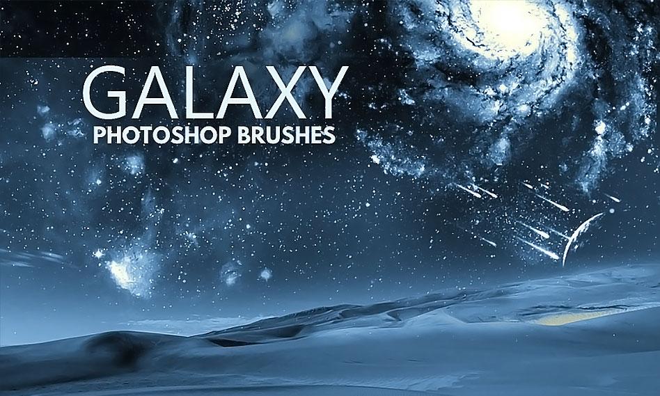 11 براش کهکشان برای فتوشاپ با کیفیت بالا مناسب برای طراحی