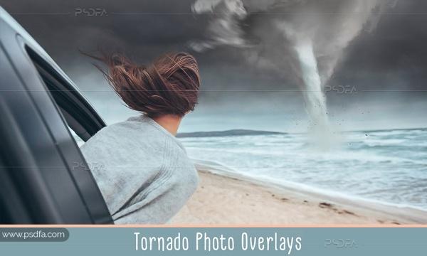 افکت گردباد و هوای طوفانی بر روی عکس و تصاویر برای فتوشاپ