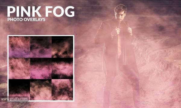 افکت بخار و مه رنگی بر روی عکس و تصاویر در فتوشاپ
