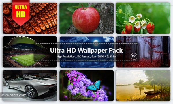 مجموعه والپیپر متنوع برای دسکتاپ با کیفیت 4K – Ultra HD
