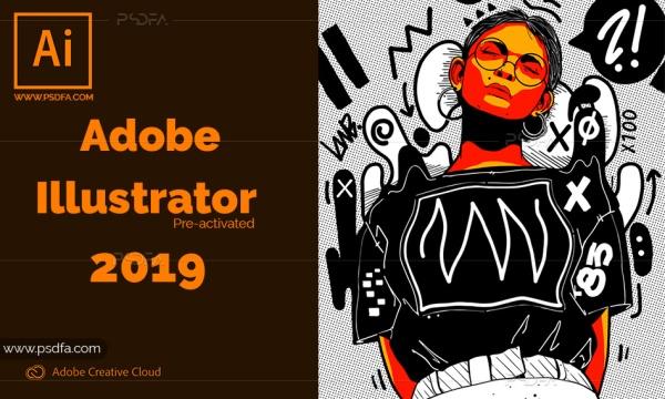 نرم افزار طراحی برداری Adobe Illustrator CC 2019 v23.0.3.585 + فعال شده