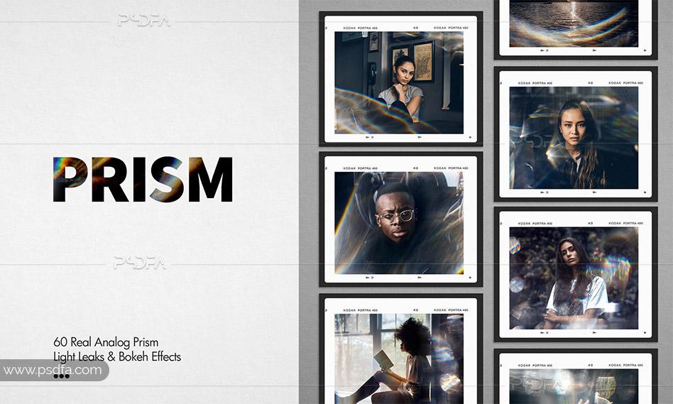 افکت و جلوه های ویژه نوری منشوری و کریستالی برای عکس و تصاویر در فتوشاپ