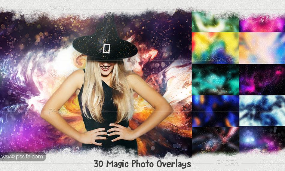 30 افکت و جلوه ویژه جادویی هالووین بر روی عکس و تصاویر برای فتوشاپ
