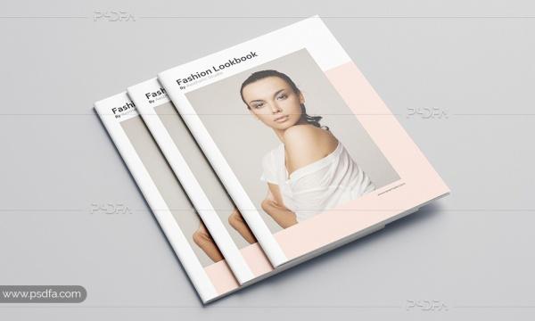 قالب لایه باز کاتالوگ و ژورنال فشن ، مد و لباس با فرمت PSD