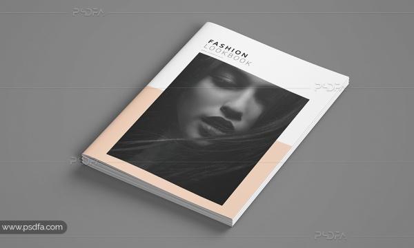 قالب لایه باز کاتالوگ و ژورنال عکاسی ، فشن ، مد و لباس با فرمت PSD