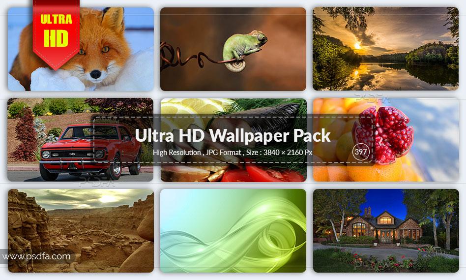 مجموعه والپیپر منظره و طبیعت برای دسکتاپ با کیفیت Ultra HD
