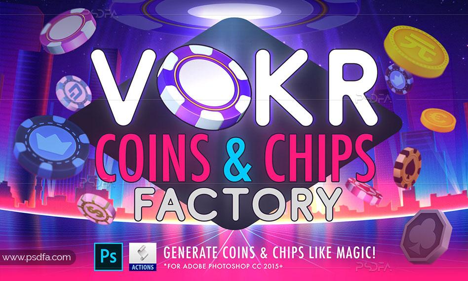 ساخت سکه برای بازیهای موبایل و PC در فتوشاپ
