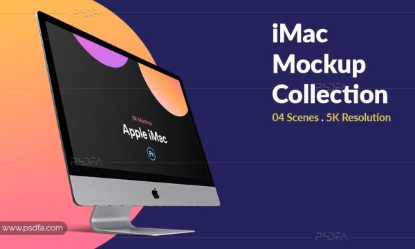 موکاپ آی مک پرو 2019 لایهباز – iMac Pro 2019 Mockup