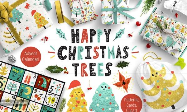 عناصر طراحی فانتزی کریسمس