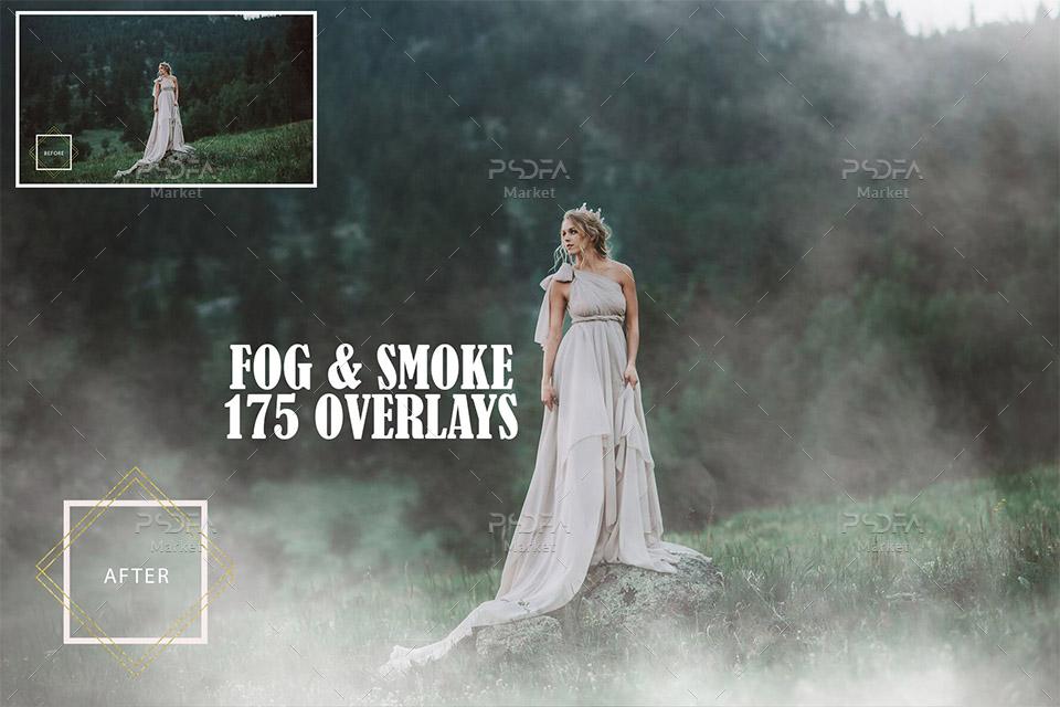 افکت دود و مه عکس و تصاویر مناسب برای فتوشاپ