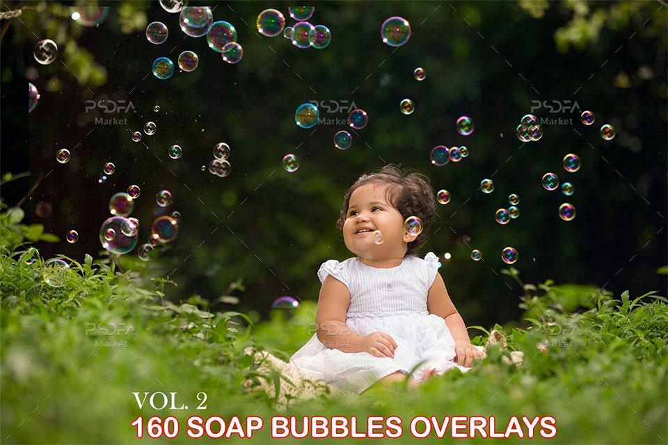 افکت حباب صابون بر روی عکس و تصاویر در نرمافزار فتوشاپ – نسخه 2