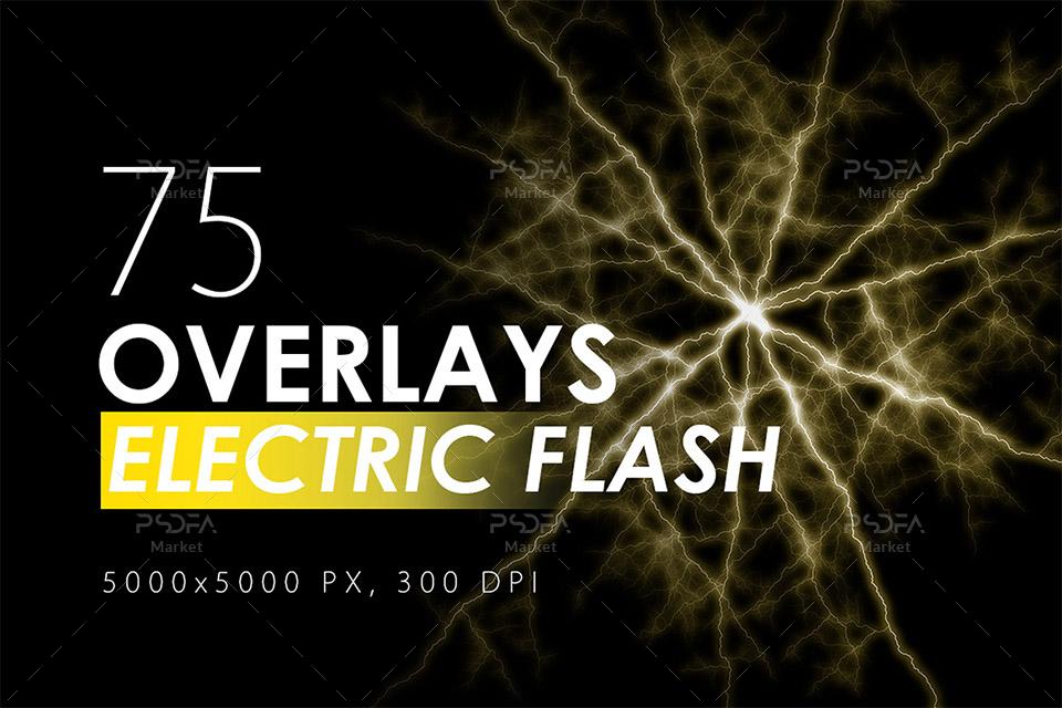افکت نوری جریانهای الکتریسیته و یا رعد و برق و صاعقه