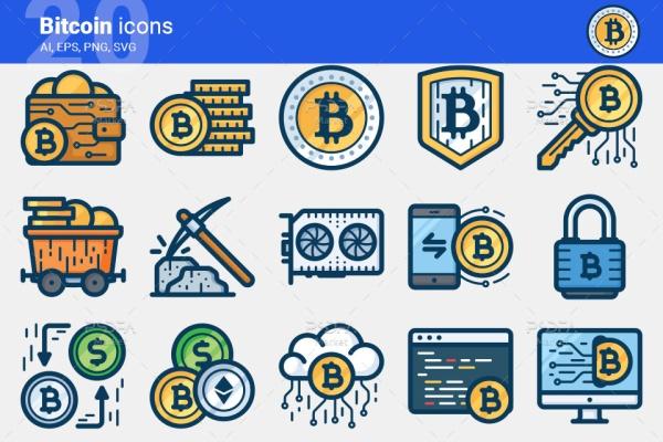 آیکون بیت کوین Bitcoin