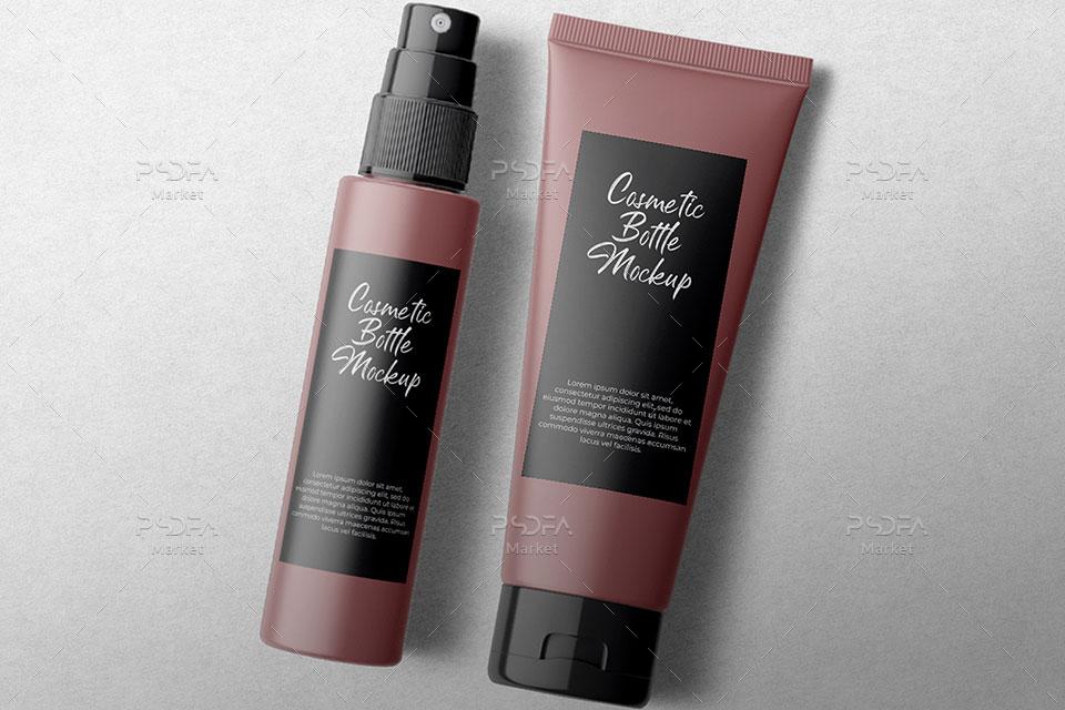 موکاپ بسته بندی محصولات آرایشی و بهداشتی