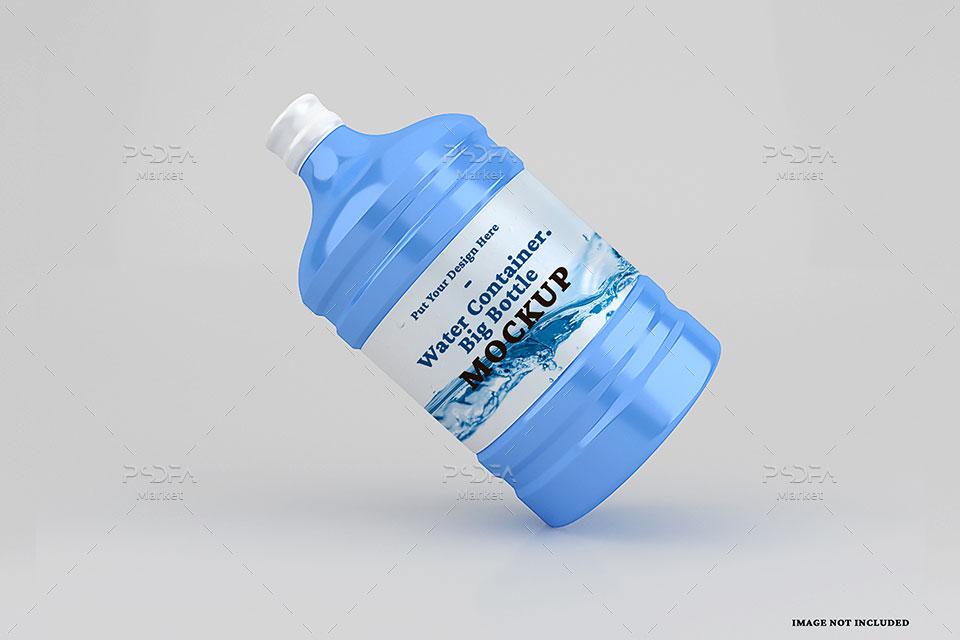 موکاپ بطری آب آبسردکن