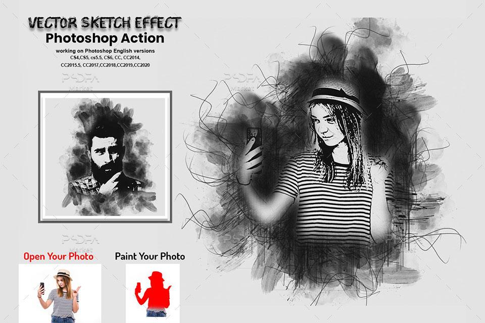 تبدیل عکس به نقاشی وکتوری