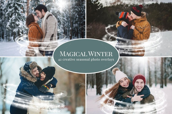 افکت زمستانی جادویی