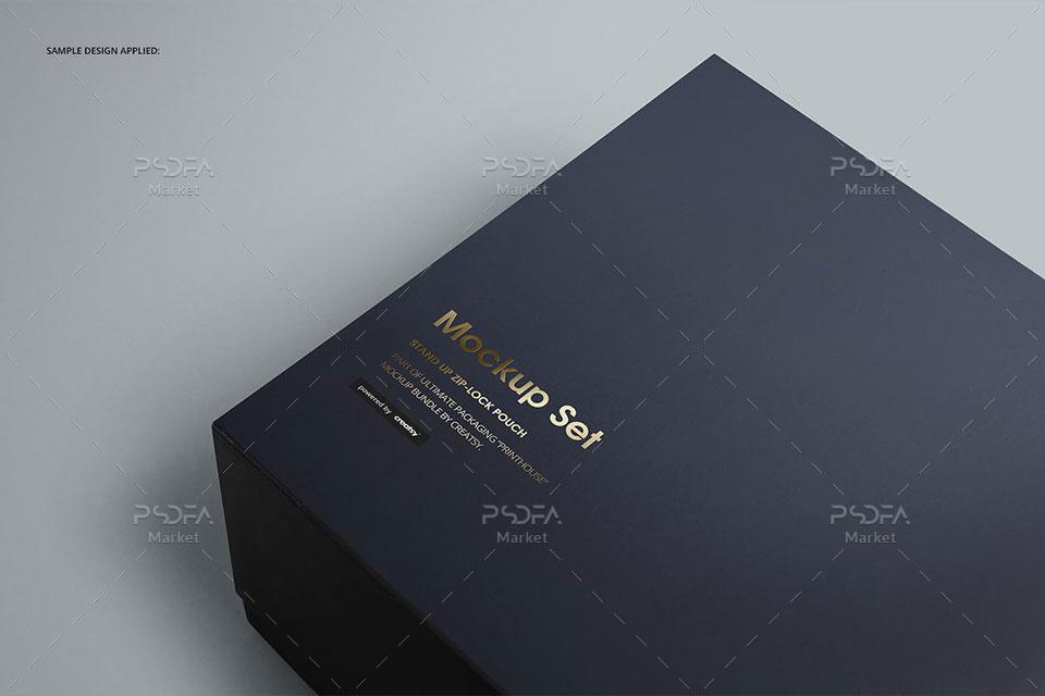 موکاپ جعبه هدیه مغناطیسی