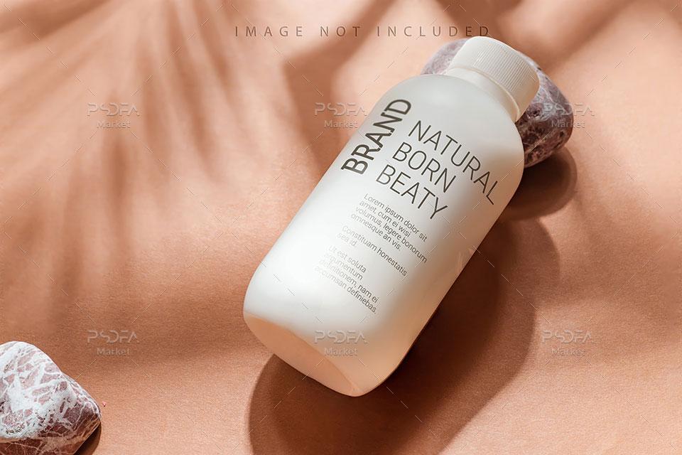 موکاپ بطری و تیوب محصولات آرایشی