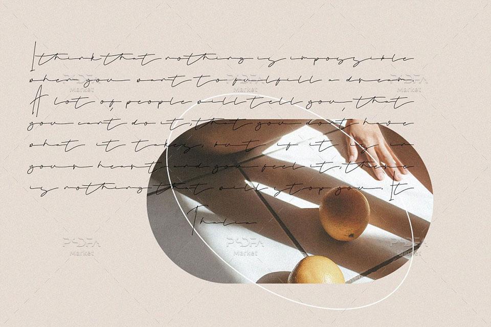 فونت انگلیسی دستنویس و امضایی