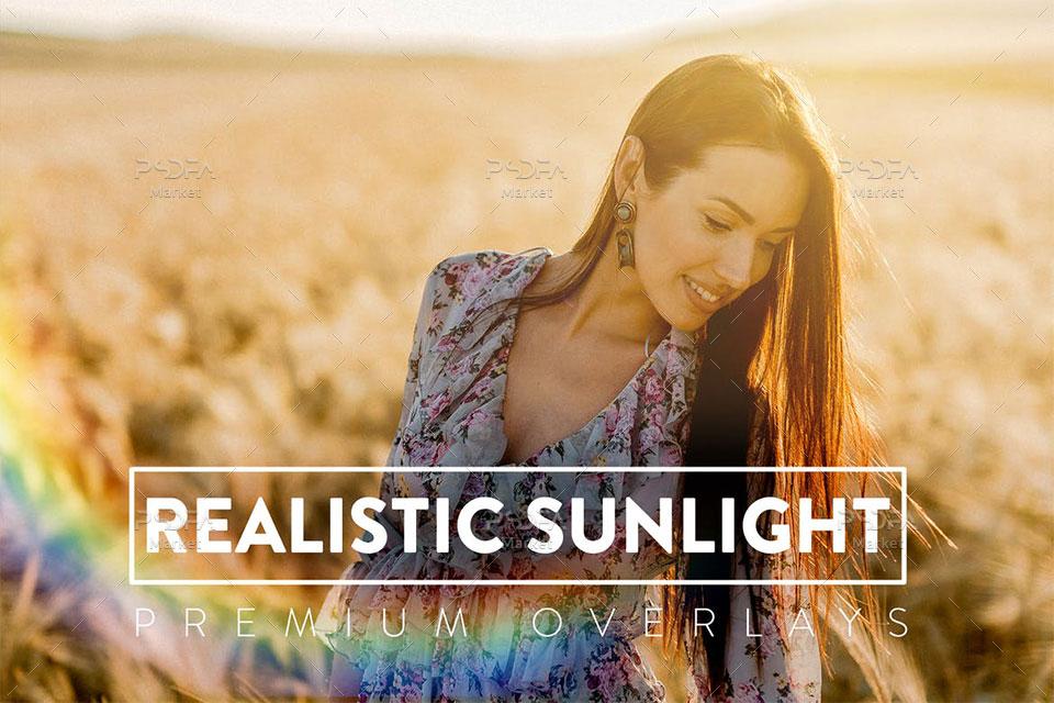 افکت نور خورشید
