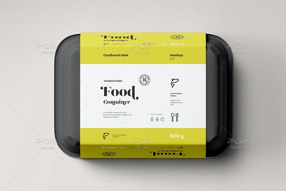 موکاپ بسته بندی مواد غذایی