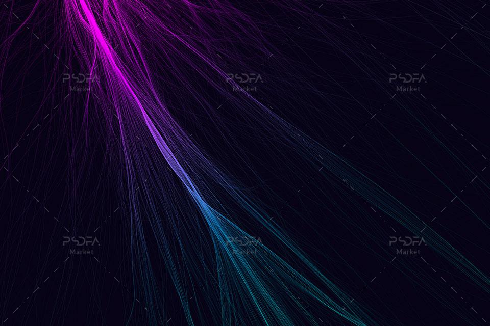 بک گراند خطوط نورانی