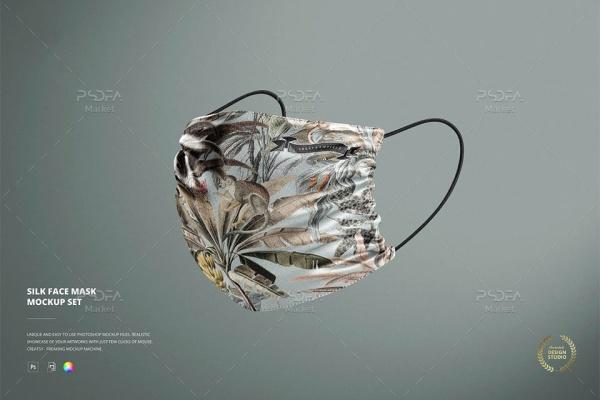 موکاپ ماسک صورت پزشکی ابریشمی