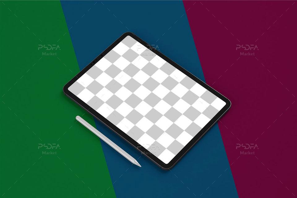 موکاپ تبلت آیپد پرو iPad Pro Mockup