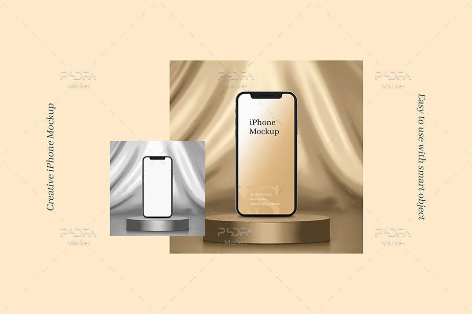 موکاپ موبایل iPhone Xs