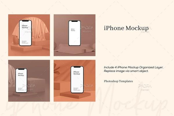 موکاپ گوشی iPhone Xs