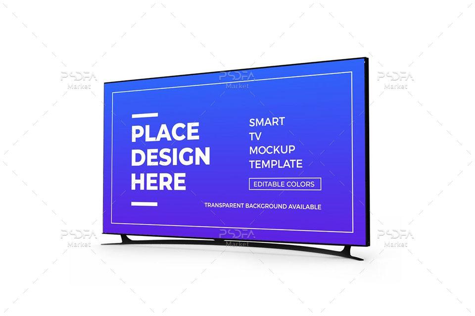 موکاپ تلویزیون اسمارت و هوشمند