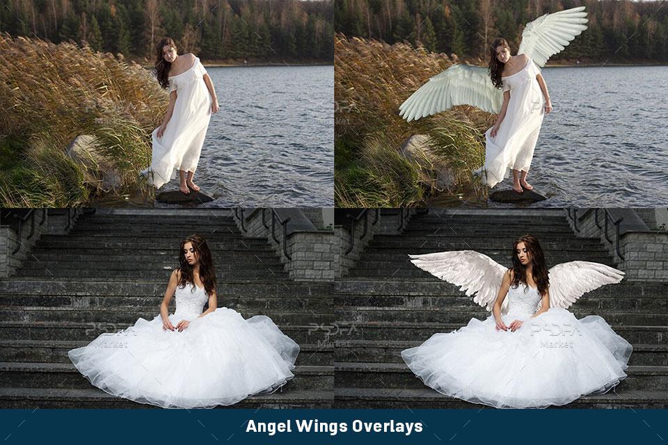 افکت بال فرشته