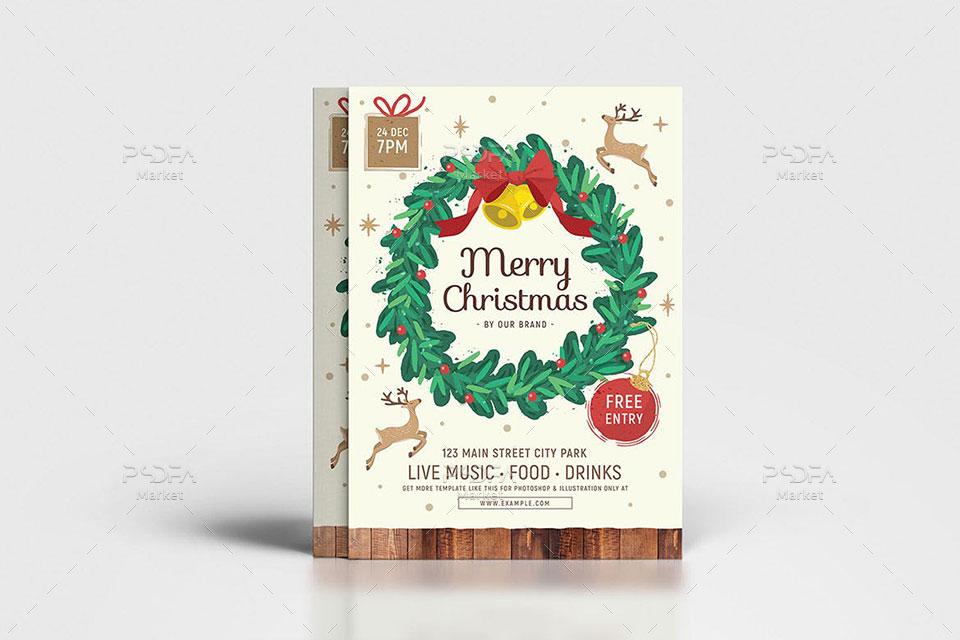تراکت و پوستر کریسمس