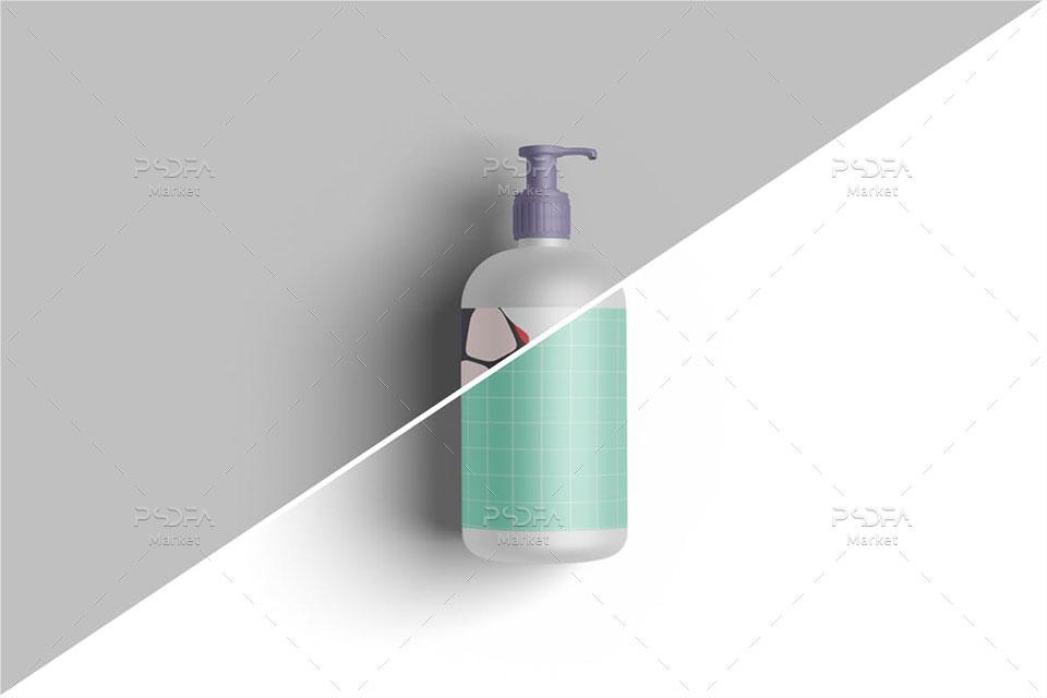 موکاپ مایع دستشویی پمپی