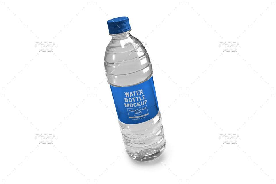 موکاپ بطری آب معدنی